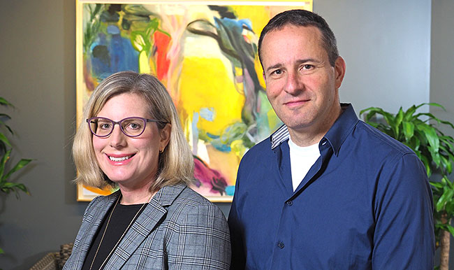Andrea DeVries, PhD, of Anthem HealthCore in Delaware and Guy David, PhD, Professor of Health Care Management at the University of Pennsylvania'sWharton School
