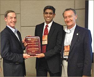 William Pierskalla hosts the annual INFORMS researcher award event in 2012.