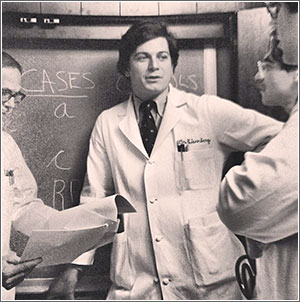 John Eisenberg, MD, as a young University of Pennsylvania researcher focused on physician decision-making