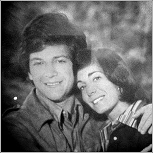 John and DD Eisenberg as high school sweethearts.