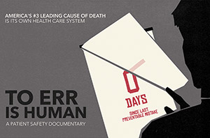To Err is Human documentary promo screen