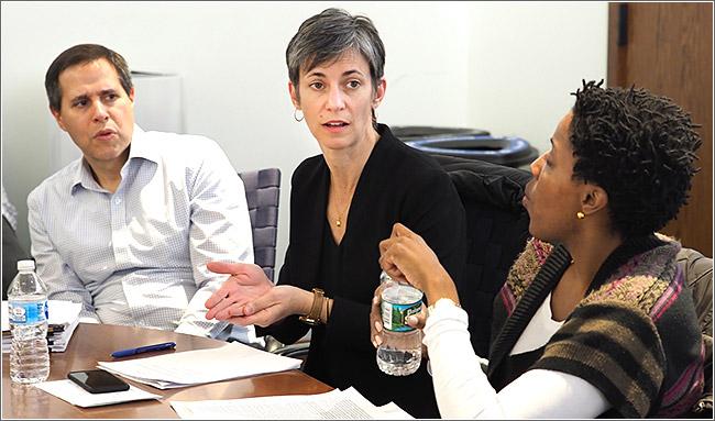 New Penn minority aging research committee members meet