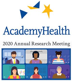 AcademyHealth Research Meeting logo, 2020