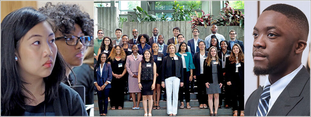 Upenn's Joanne Levy in photo op with some of her Summer Undergrad Minority Research (SUMR) students