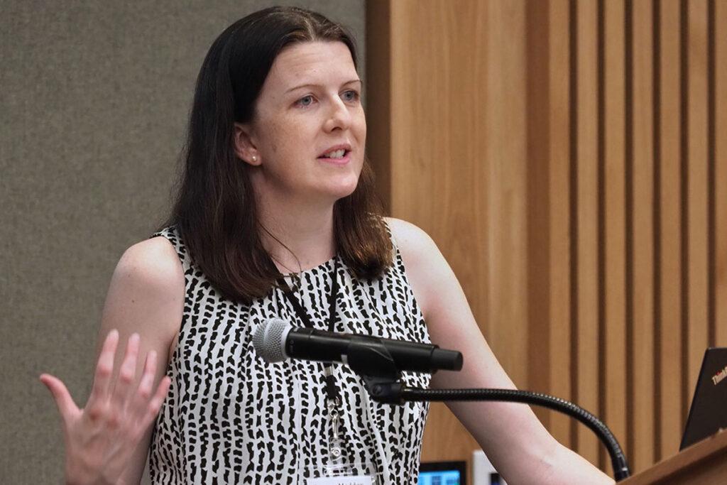 Brenna Maddox, PhD, a CMHPSR Postdoctoral Fellow