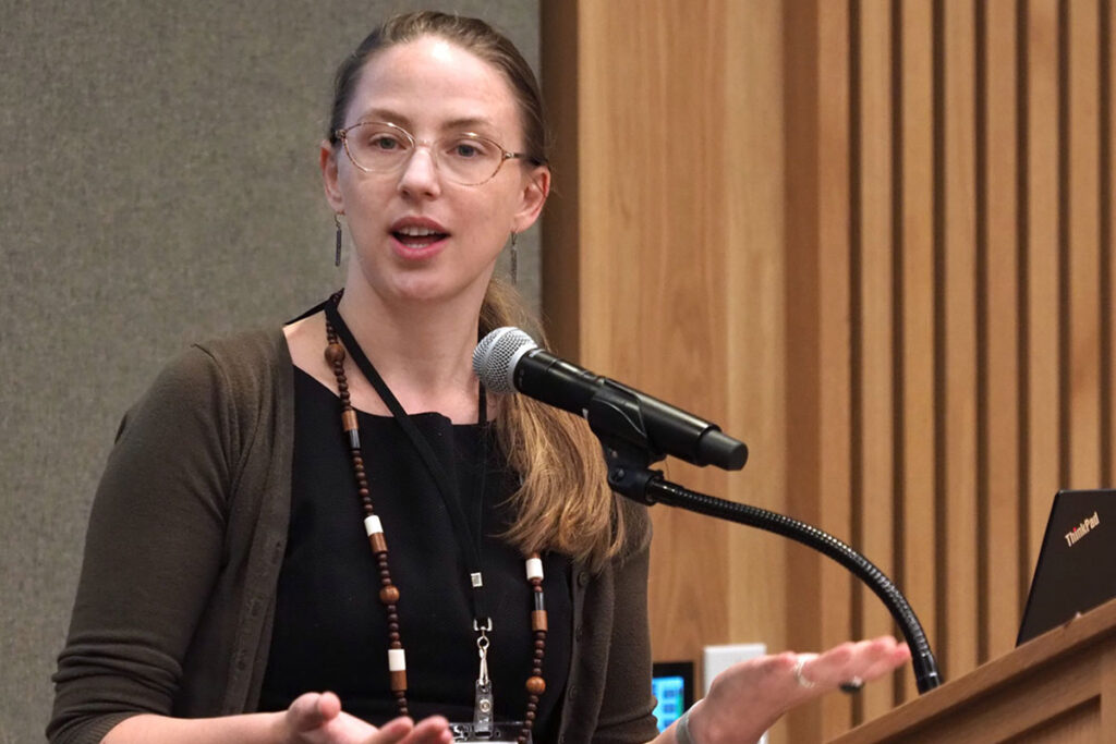 Heather Nuske, PhD, a Postdoctoral Research Fellow at the Center for Mental Health Policy and Services Research