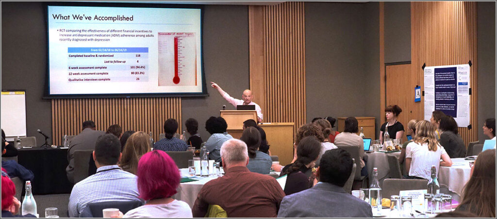 University of Pennsylvania Research Associate Professor and LDI Senior Fellow Steven Marcus, PhD, presents.