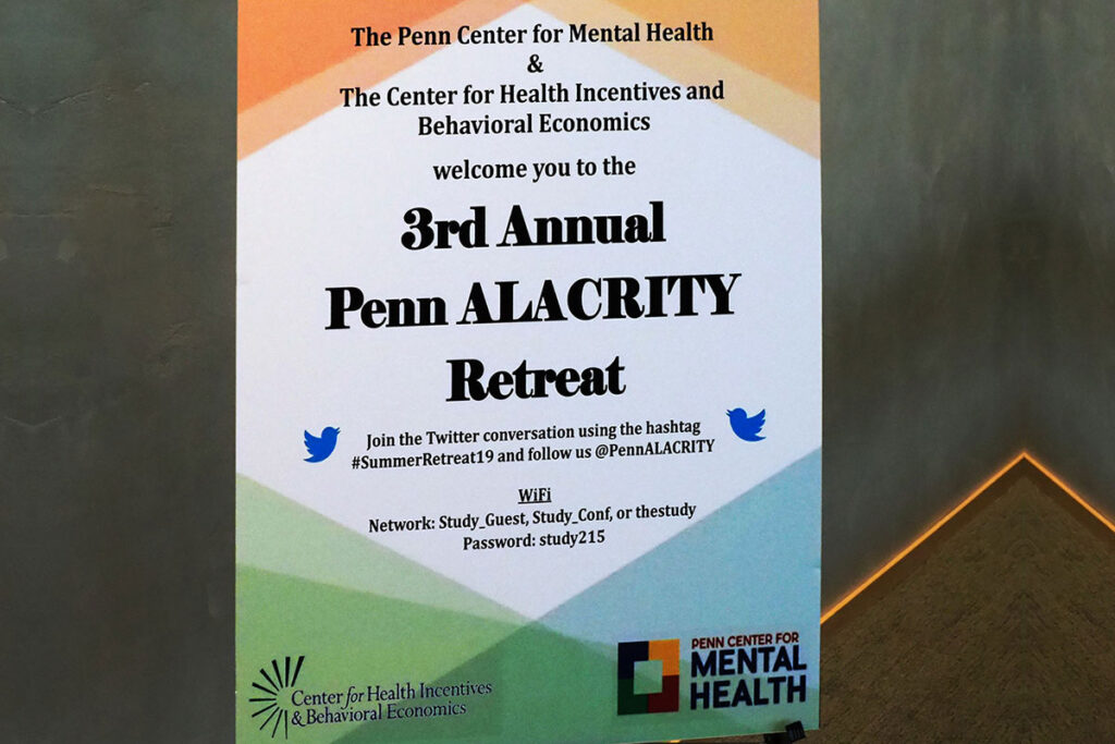 Poster for 3rd annual Penn ALACRITY Retreat