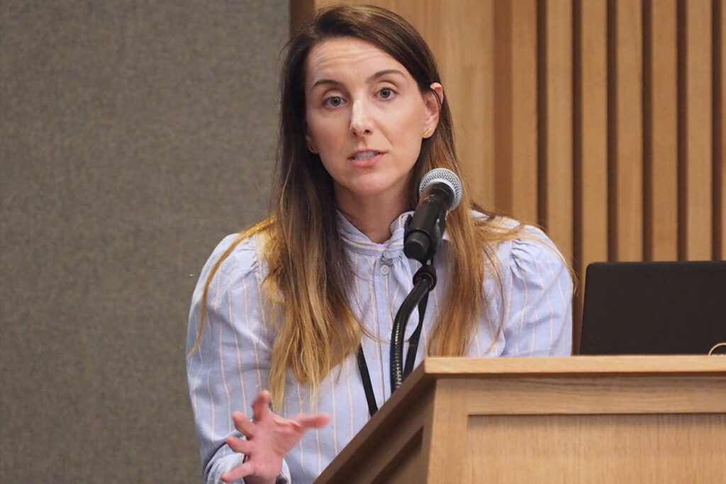 Rebecca Stewart, PhD, Assistant Professor at the Penn Center for Mental Health in the Perelman School