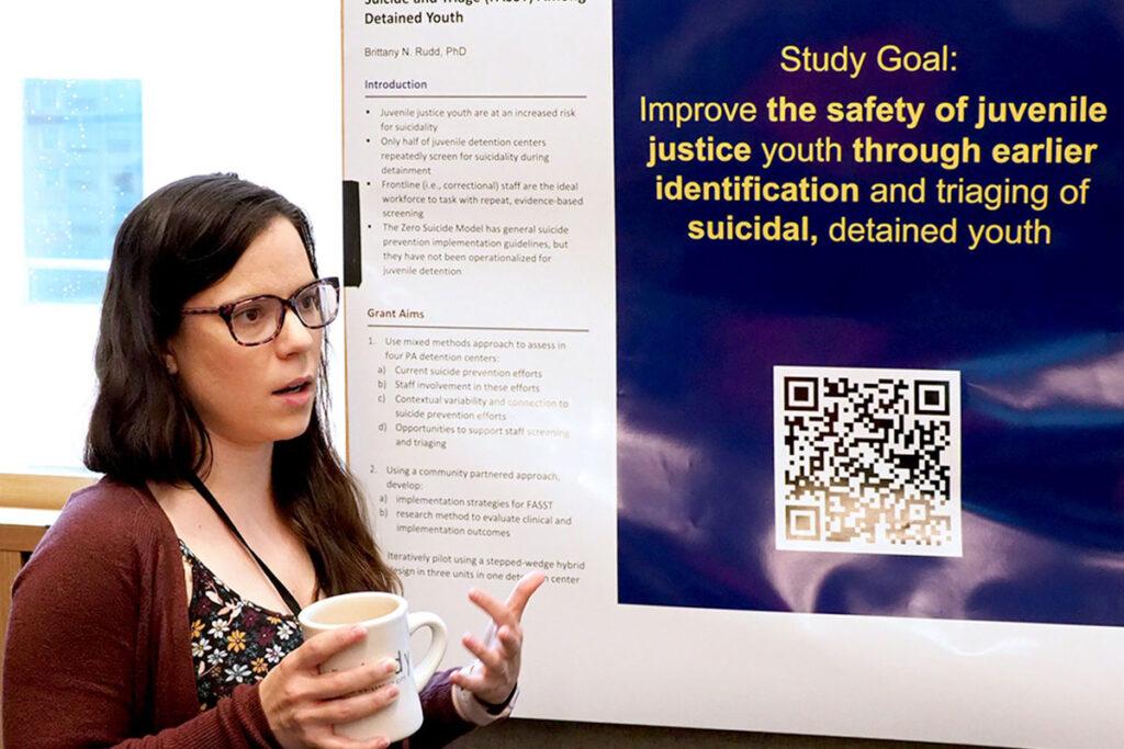 Brittany Rudd, Postdoctoral Fellow in Psychiatry at the Perelman School
