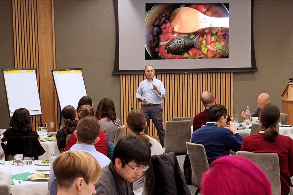 Roy Rosin, Penn Medicine Chief Innovation Officer at Penn seminar.