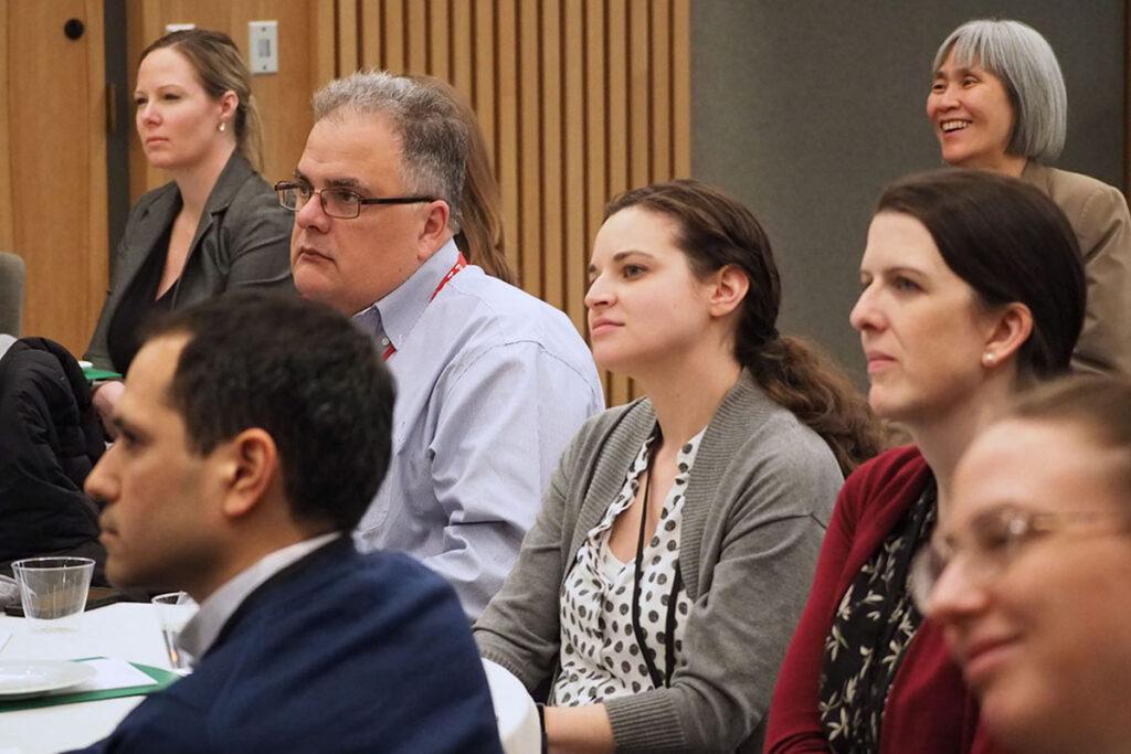 Audience members at 2019 Penn ALACRITY seminar