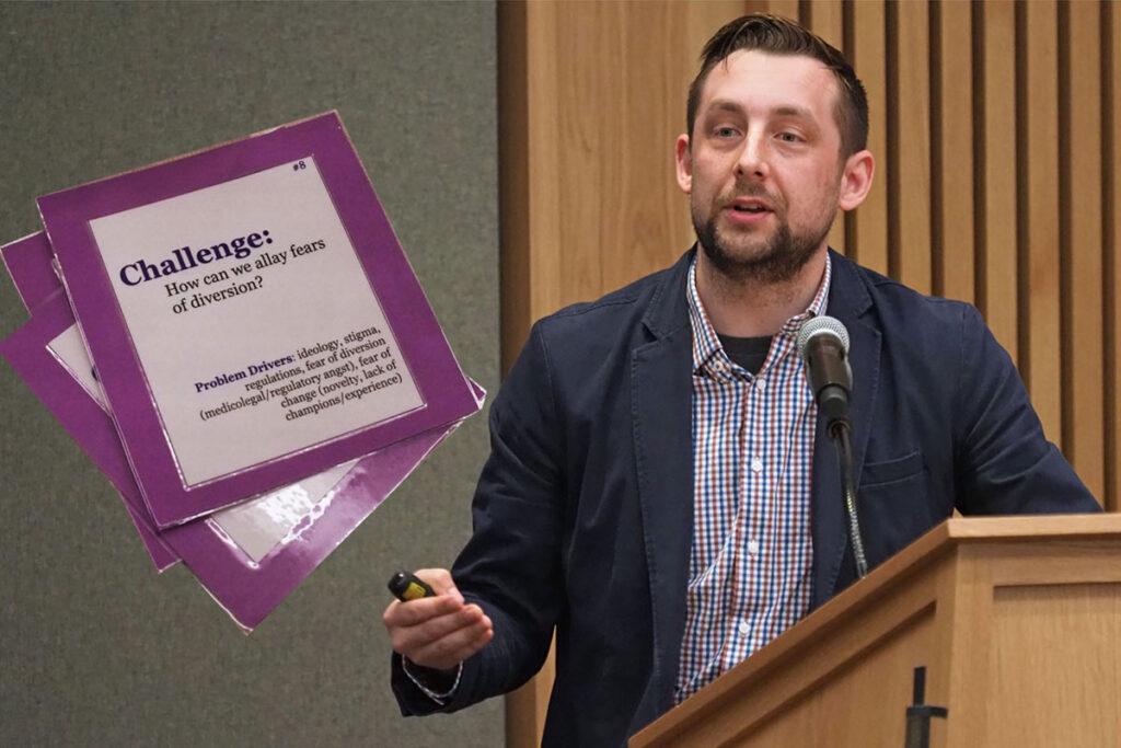 Innovation Design Strategist Michael Begley, MA, of the Penn Health Care Innovation Center
