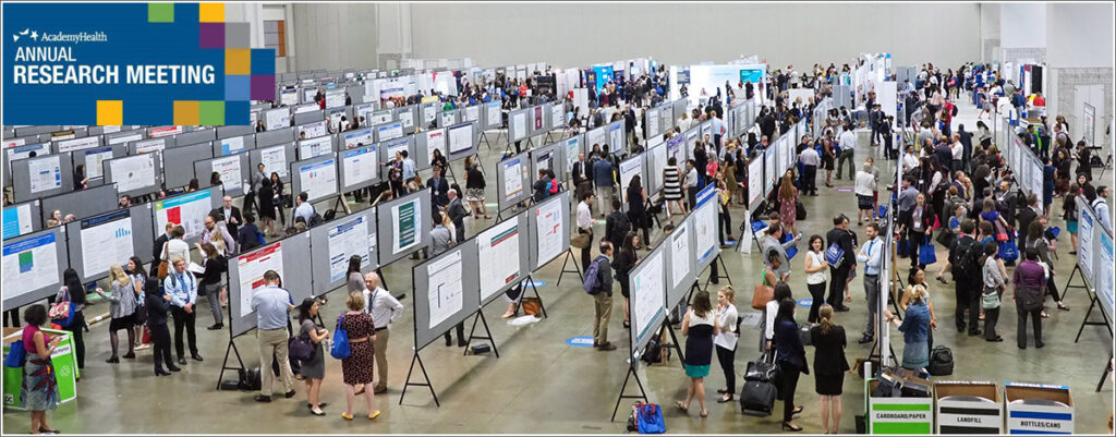 The AcademyHealthy 2019 ARM poster expo hall featured more than 1,600 posters.
