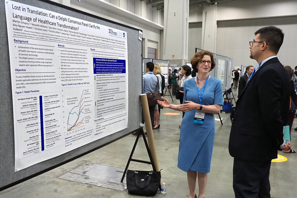Philadelphia Crescenz VA Medical Center Professor and LDI Senior Fellow Marilyn Schapira, MD, MPH, speaks with Salar Khaleghzadegan, MPP, of Johns Hopkins University
