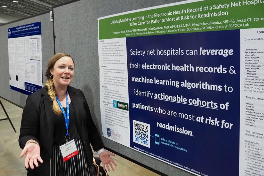 Nursing School CHOPR Postdoctoral Research Fellow Heather Brom, PhD, RN, NP-C