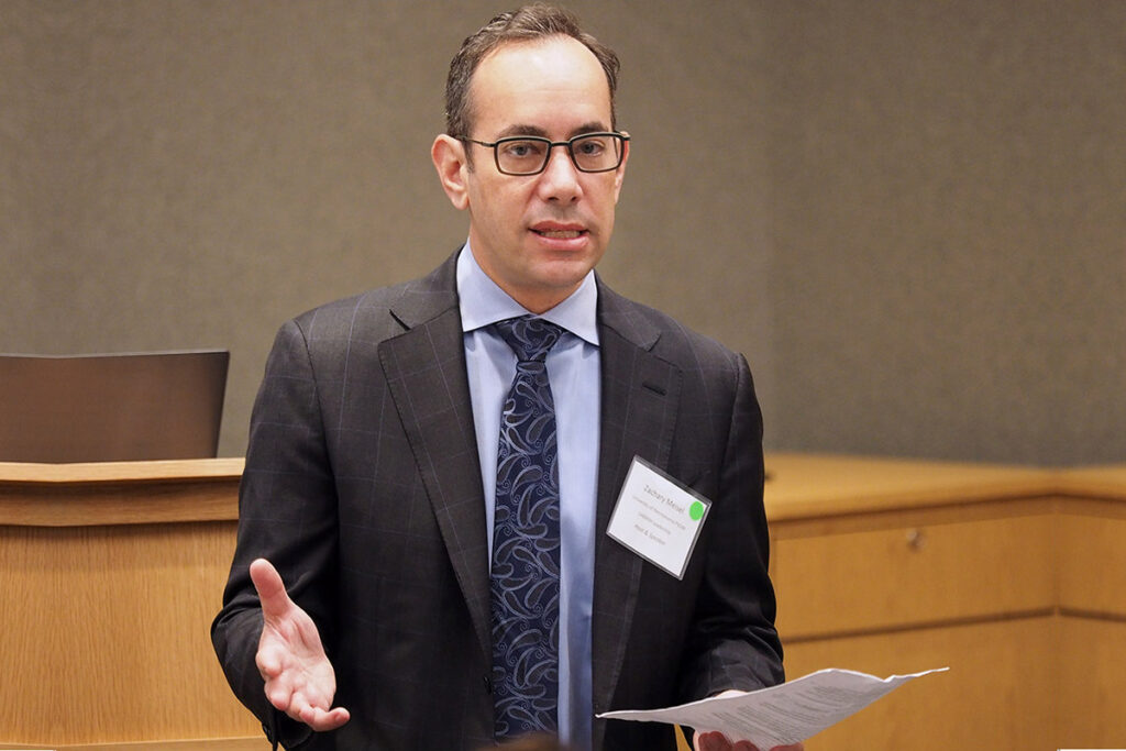 Zachary Meisel, MD, MPH, MSHP, Co-Director of the Policy and Dissemination Core of CHERISH