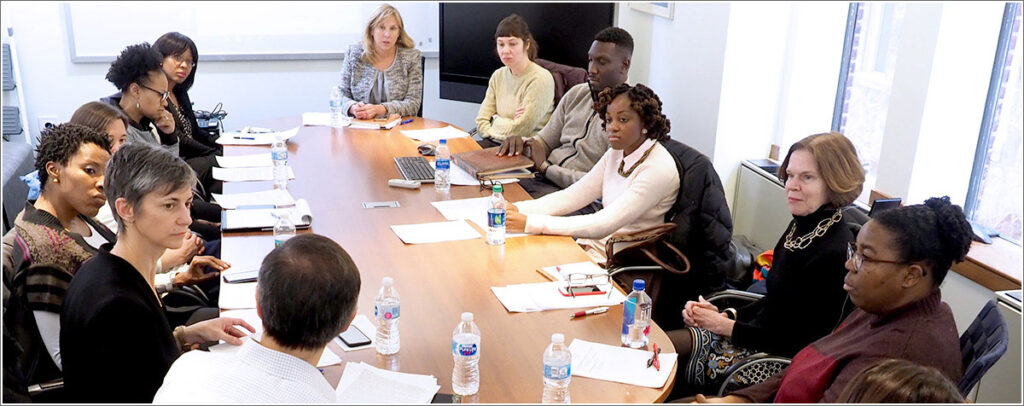 First meeting of Penn faculty members in the new Resource Center for Minority Aging Research