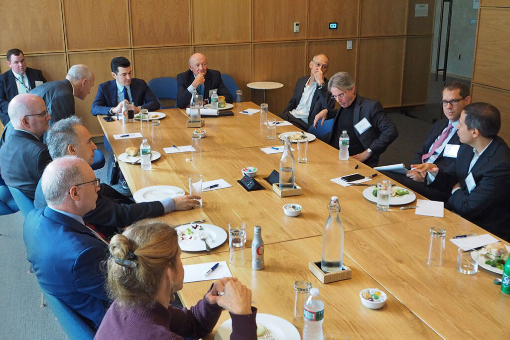 U.S. Food and Drug Administration Commissioner Scott Gottlieb, MD, meets with Penn Medicine's top executives.