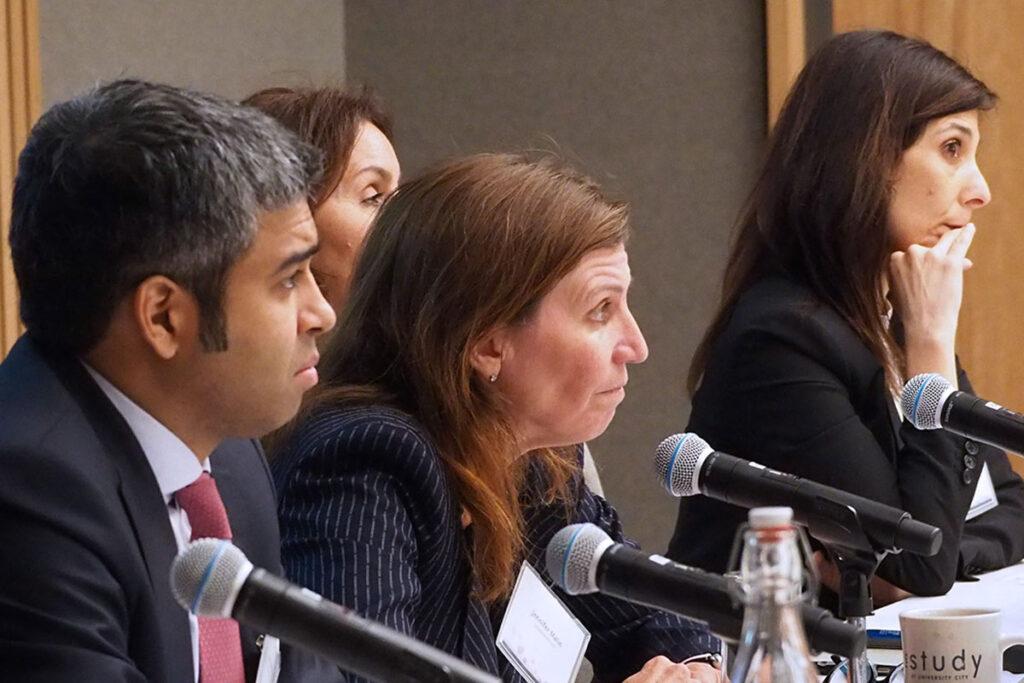 Anand Shah, MD, MPH, Jennifer Malin, MD, PhD, Liz Barrett, MBA, and Rena Conti, PhD