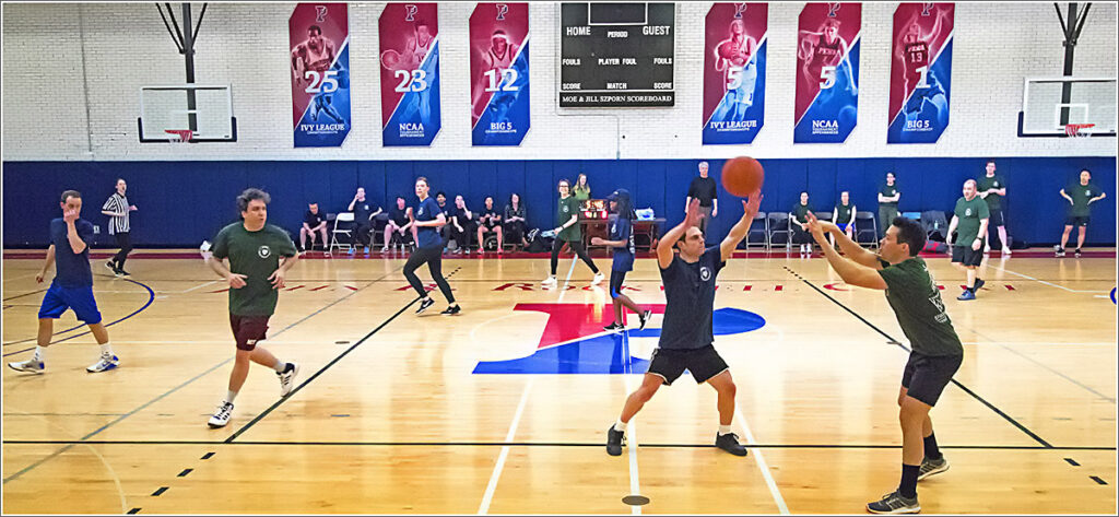 enn's annual Wharton Health Care Management Department Student-Faculty Basketball Tournament took to the floor in Penn's Rockwell Gym