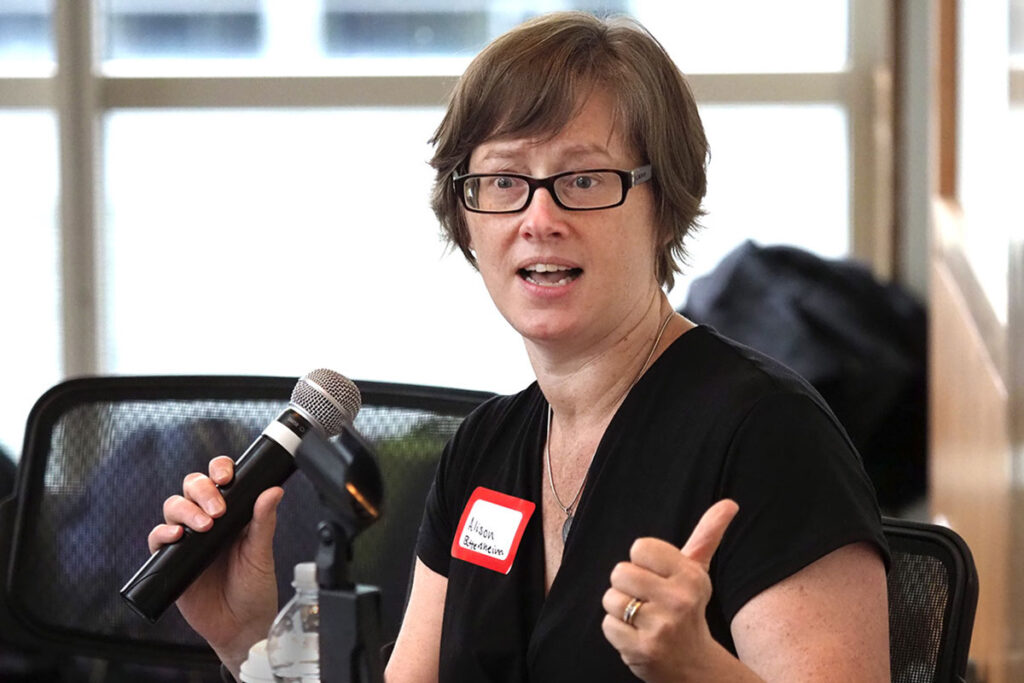 Nurse scientist  Alison Buttenheim, PhD, MBA