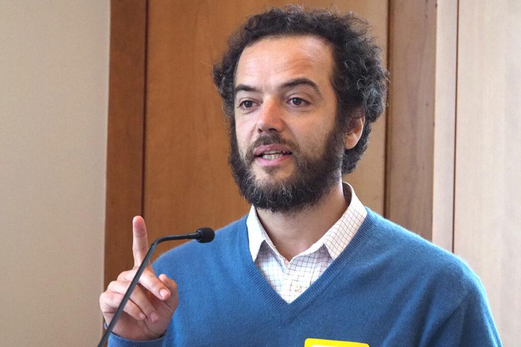 Pedro Molteni, MA, a therapist at Community Mental Health and Mental Retardation (COMHAR)