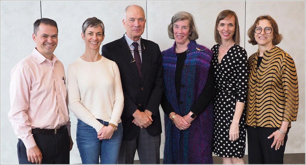 David Grande, MD, MPA, Rachel Werner, MD, PhD, Vincent Mor, PhD, Mrs. Charles Leighton, Kristi Leighton, and Joanne Levy