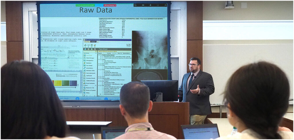 A seminar for health researchers focuses on the basics of machine learning.