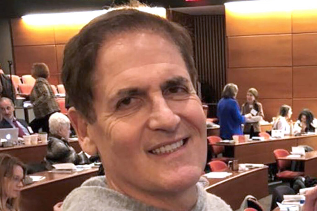 TV personality Mark Cuban at the Medicare for All and Beyond Conference