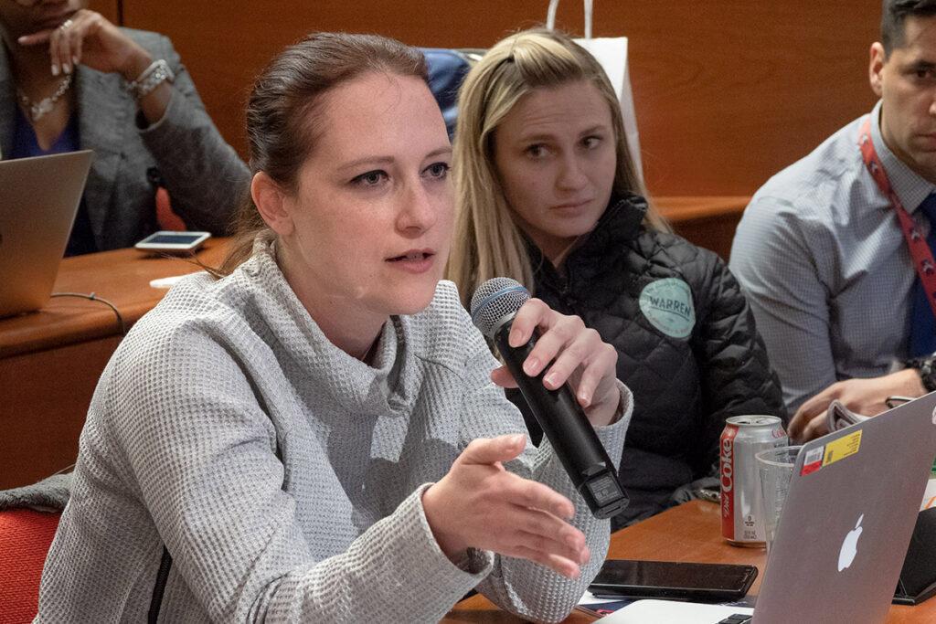 Lori Kearns, JD, Director of Senator Bernie Sanders' Capitol Hill office.