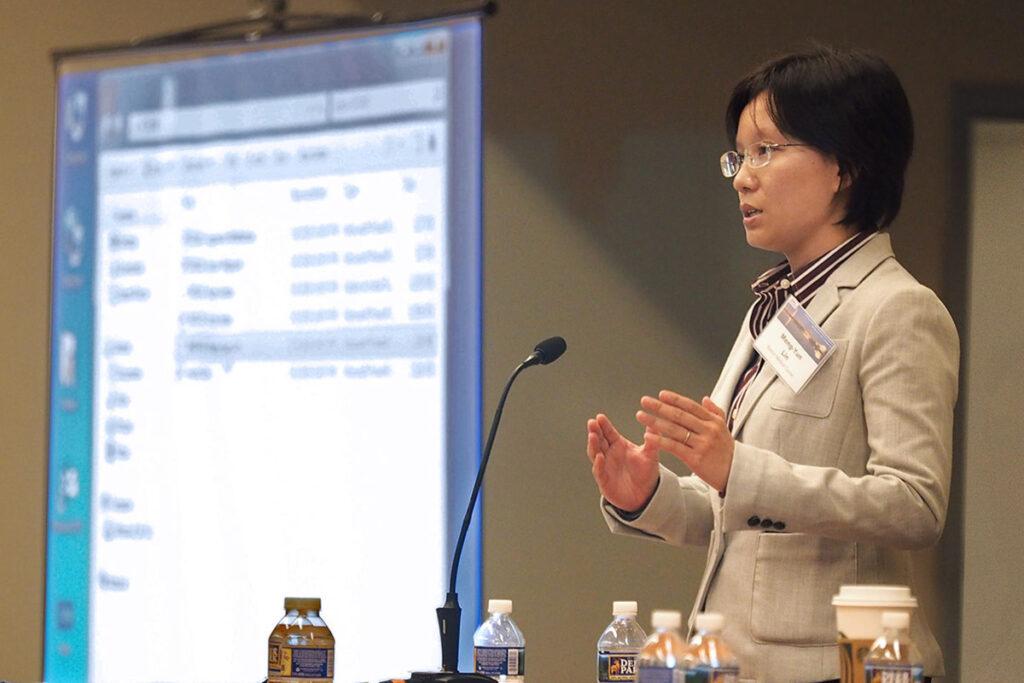 Meng-Yun Lin, PhD, of Boston Medical Center