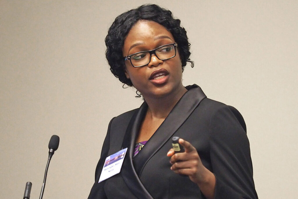 Maningbe Keita, a PhD candidate at Johns Hopkins Bloomberg School of Public Health