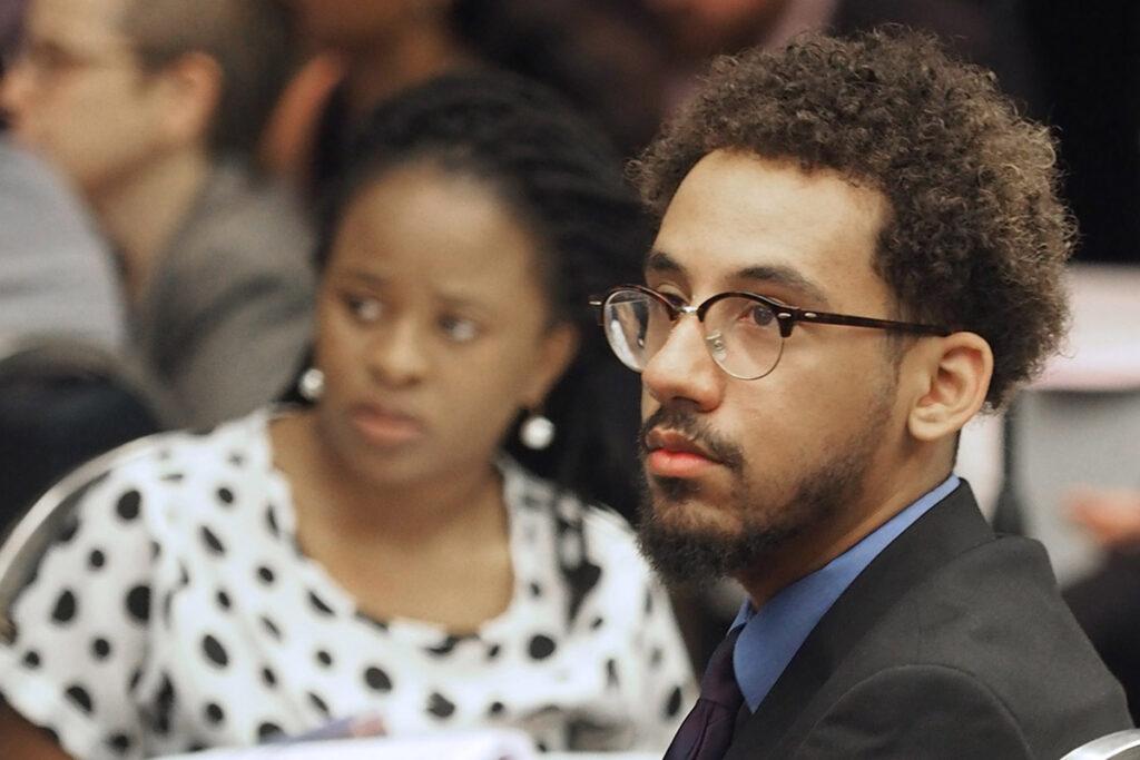 Phiwie Ndebele-Ngwenya of Philander Smith College and Khalid El-Jack of Boston University.