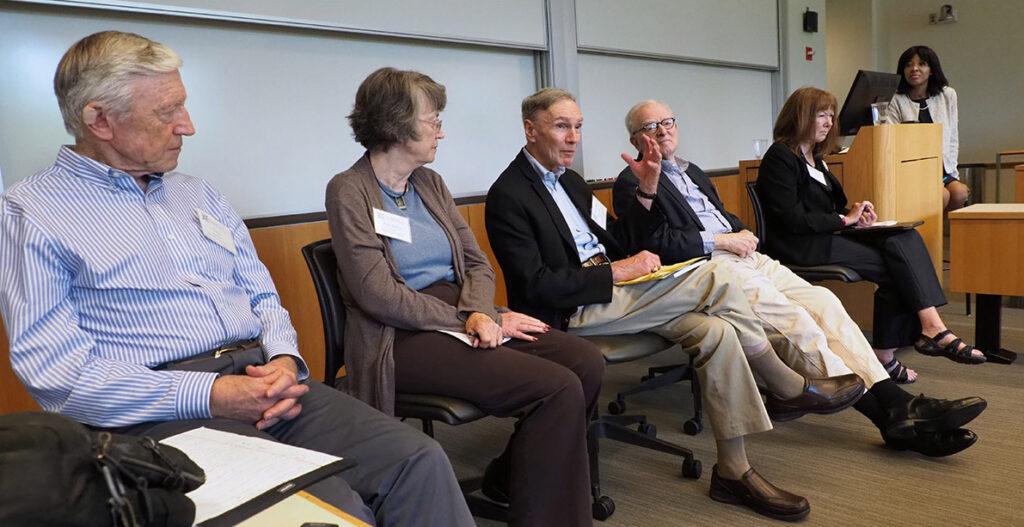 John Kimberly, PhD, Ann Barry Flood, PhD, Stephen Shortell, Anthony Kovner and Jacqueline Zinn