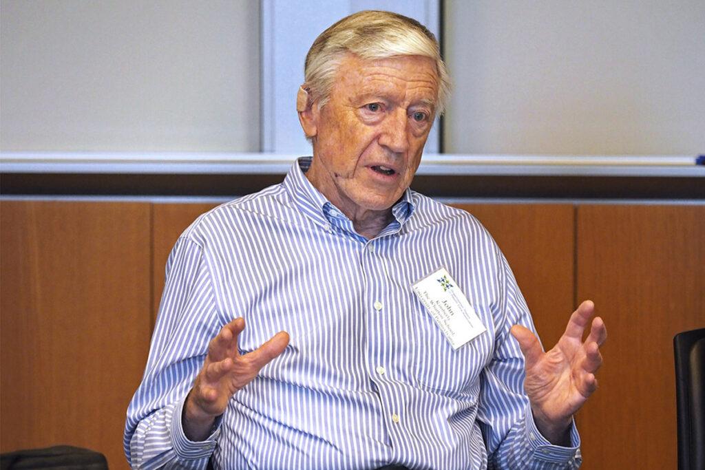 Wharton professor John Kimberly