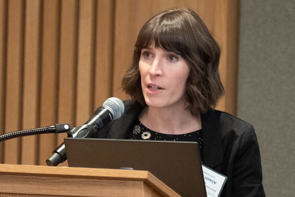 Alison Gemmill, PhD, MPH, Assistant Professor of Population, Family and Reproductive Health at Johns Hopkins University,