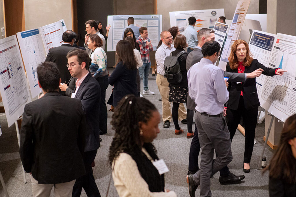 Poster displays at 2019 Population Health Science Research Workshop