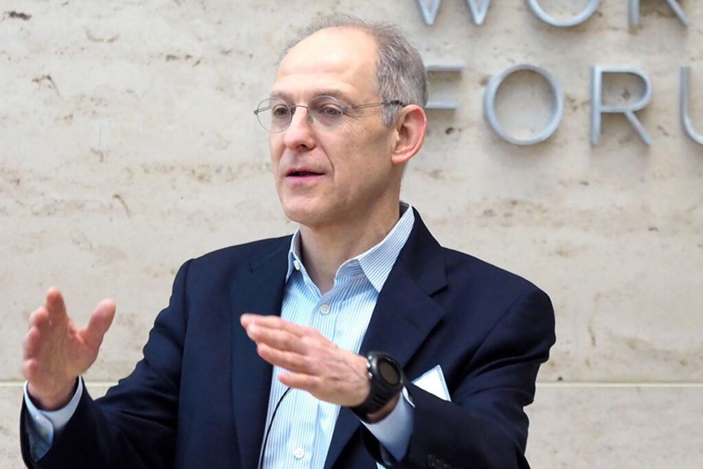 Penn Vice Provost for Global Initiatives Ezekiel Emanuel at a conference
