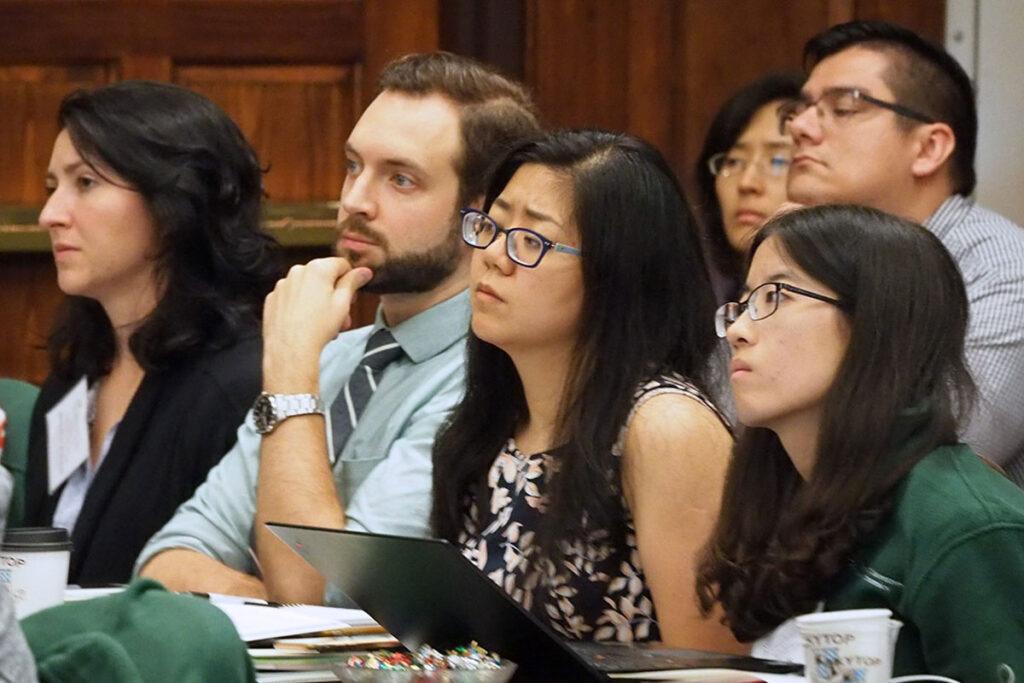Audience members at the 2018 Penn/CMU Roybal Behavioral Economics Retreat