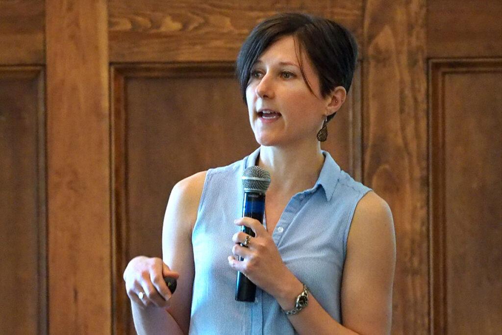Ania Jaroszewicz, PhD, of Carnegie Mellon University