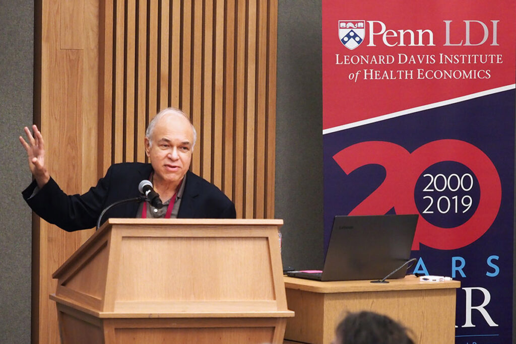 UCLA School of Medicine Professor José Escarce