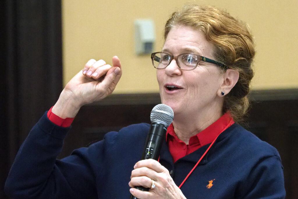 Jane Carmody, DNP, MBA, RN, Program Officer at the John A. Hartford Foundation