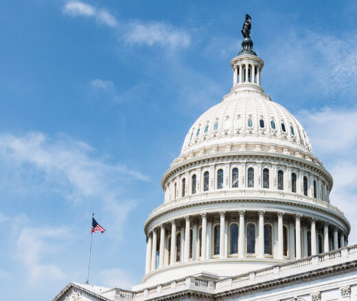 The United States Capitol Building, home of Congress