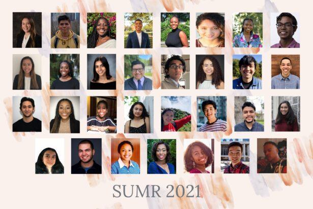 SUMR 2021 Scholars