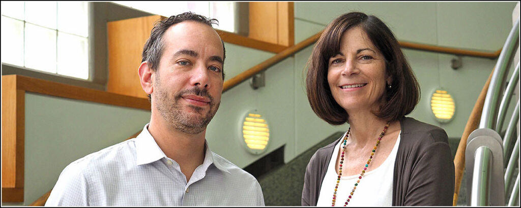 """Penn Medicine ER physicians Zachary Meisel and Jeanmarie Perrone seek to identify """"treatable moments"""" for opioid users."""