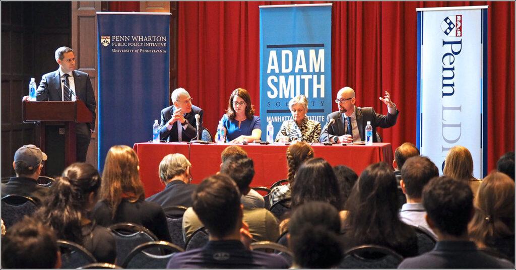 Daniel Polsky, Ezekiel Emanuel, Stephanie Carlton, Alliance Allyson Schwartz;and Paul Howard debate U.S. health care policy