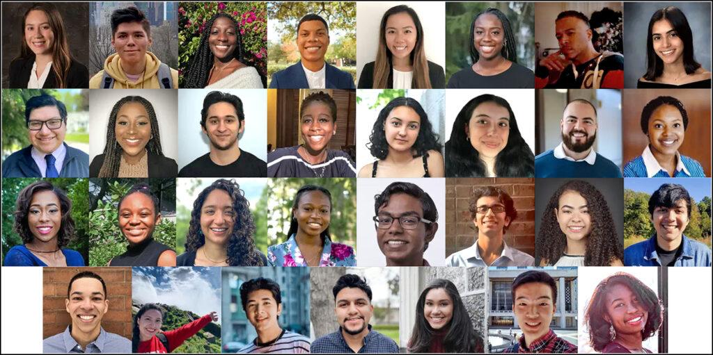 The 31 scholars in Penn's 2021 Sumer Undergraduate Minority Research (SUMR) cohort