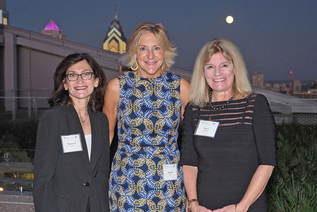 Maureen Spivack, Senior Industry Partner, New State Capital Partners; Randi Roy Chief Strategy Officer, VillageCare; and Terry Fulmer, President, The John A. Hartford Foundation