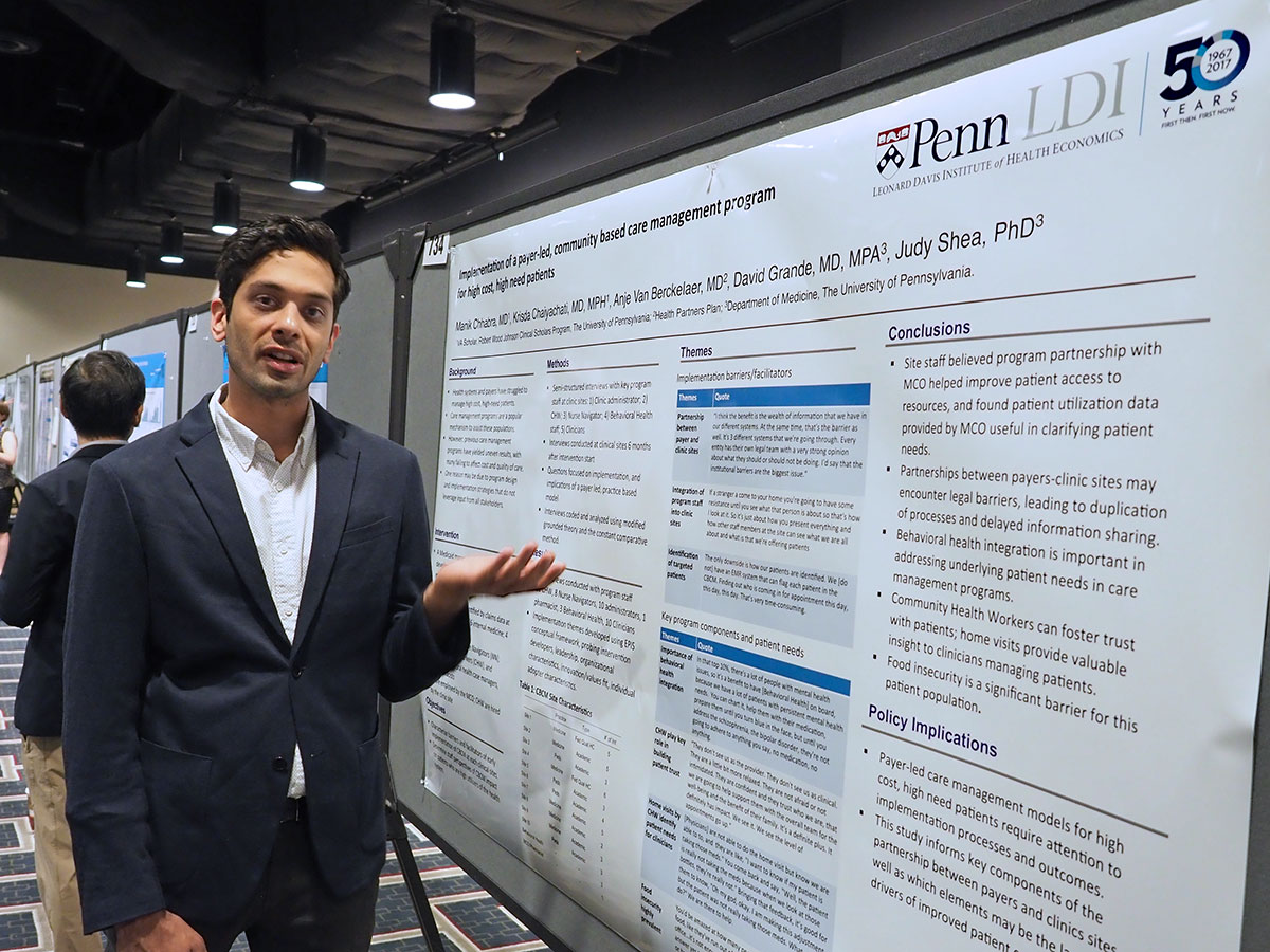 Penn Research Posters At 2017 Academyhealth Annual